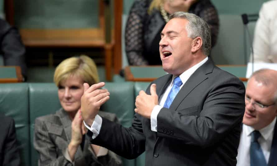 'While he's been talking a big game about the government's plans since December last year, Hockey's bill to tackle multinational tax avoidance is still nowhere to be seen.'