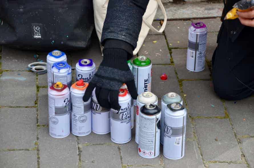 Graff Tours now does graffiti tours, classes and team-building exercises.