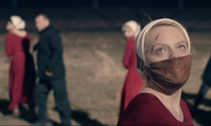 'A ceaseless cavalcade of torture' … Elisabeth Moss in season two of the Handmaid's Tale.