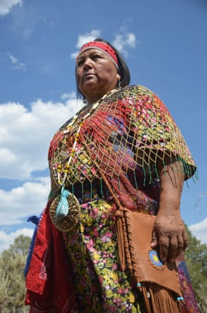Havasupai tribal council member Colleen Kaska at the Red Butte Gathering.