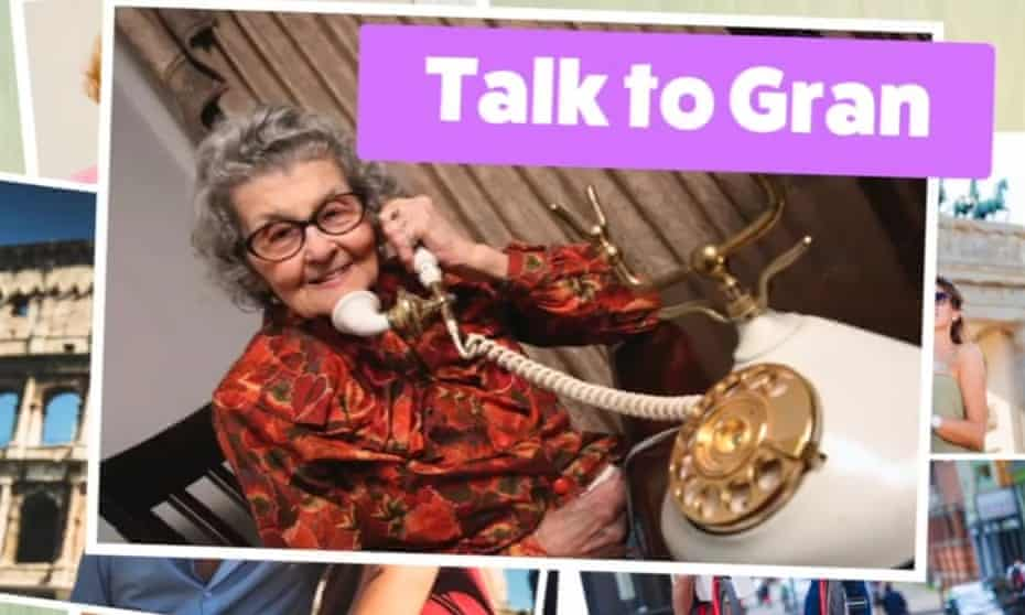 An image from Britain Stronger in Europe's 'Talk to Gran' campaign.