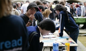 Freshers week at the University of Sussex. A thousand students there have signed a petition calling for rent caps.