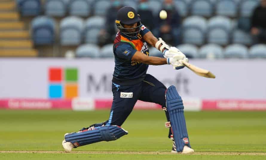 Dasun Shanaka scored 50 for Sri Lanka.