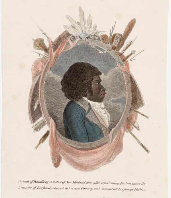 Portrait of Bennelong from the early 1800s