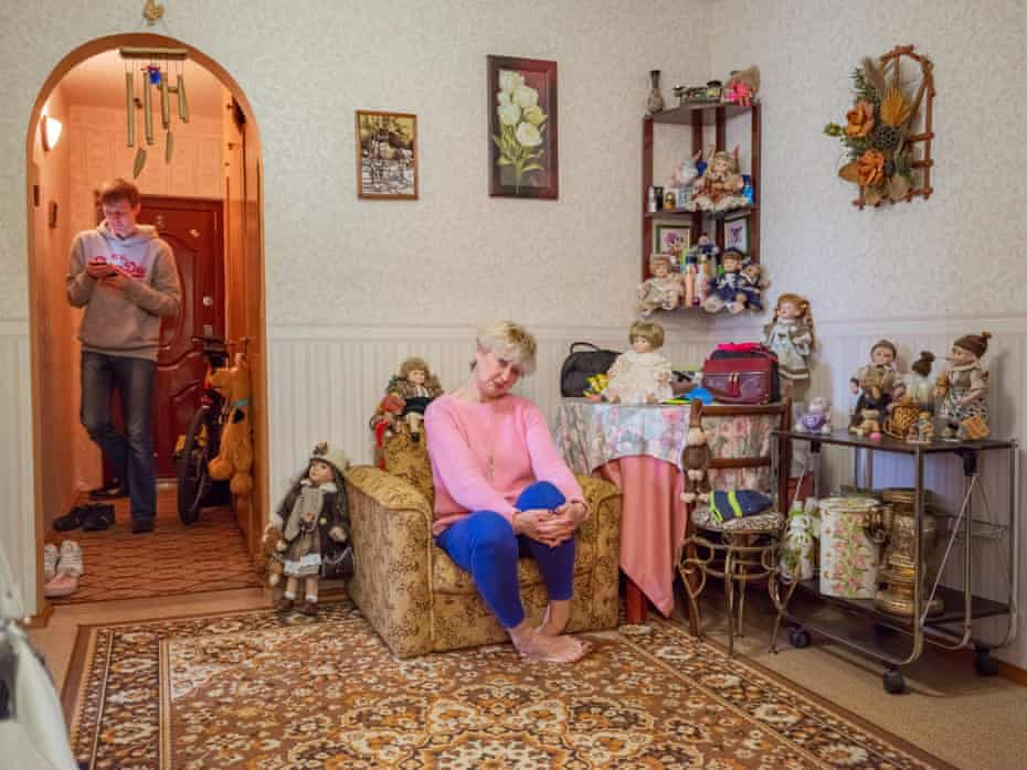 Svetlana Zaharchenko watched the disaster unfold from Pripyat and was 4 months pregnant with Jay at the time. Jay was born with serious liver complications and now receives a state pension.