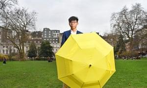 Joshua Wong, Hong Kong activist and face of the umbrella movement.
