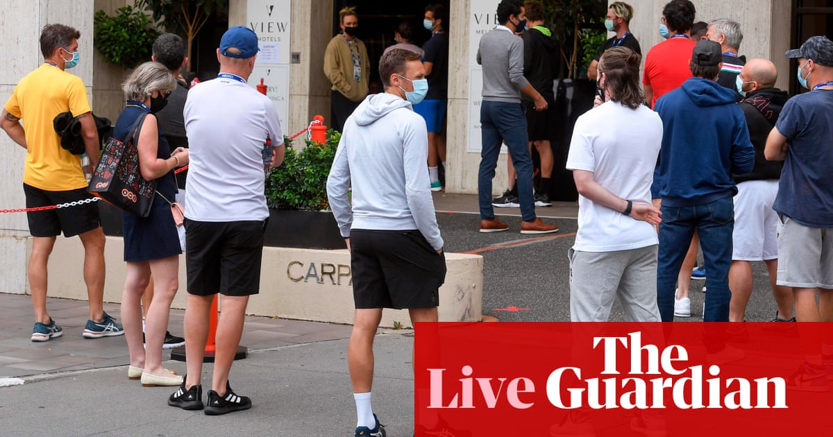 Australia news live: Victorian man tests positive to Covid after completing hotel quarantine; coronavirus vaccine rollout reset – The Guardian