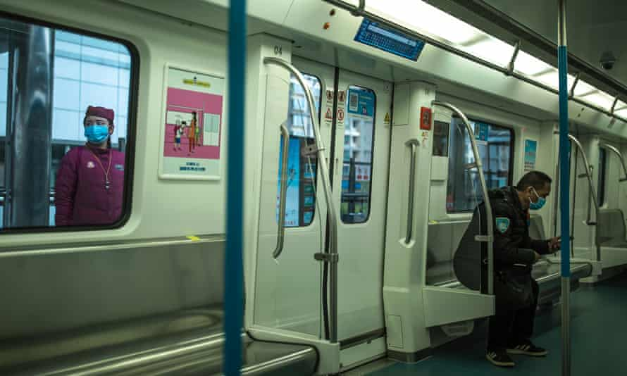 On 28 March 28 the subway in Wuhan resumed operation after two months of being closed.