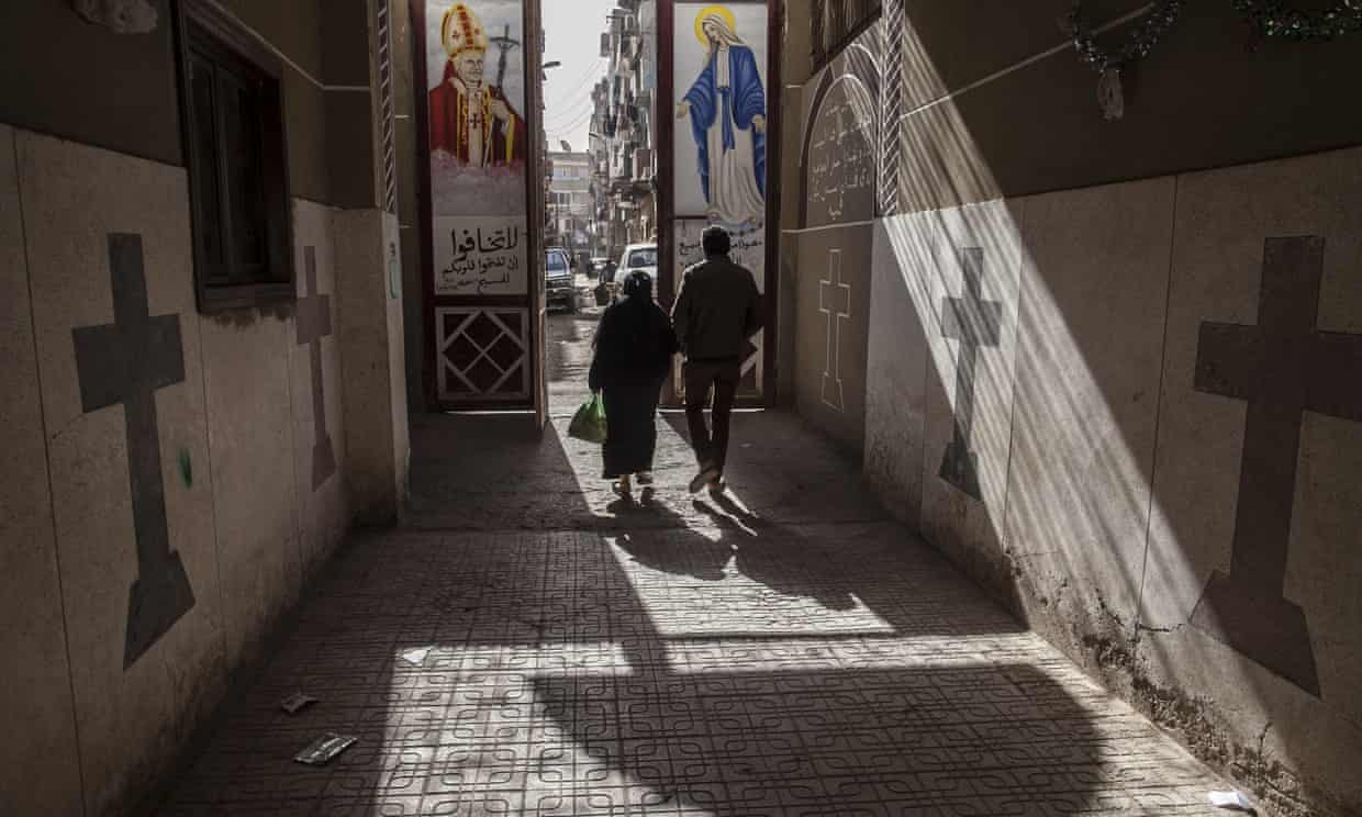 Coptic Christians in Minya, the province where the attack took place