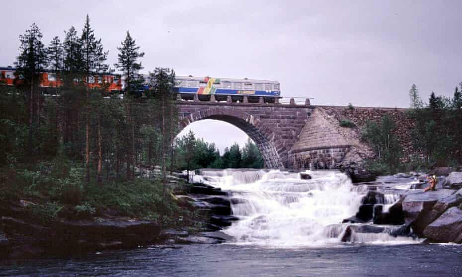 The Inlandsbanan tourist train