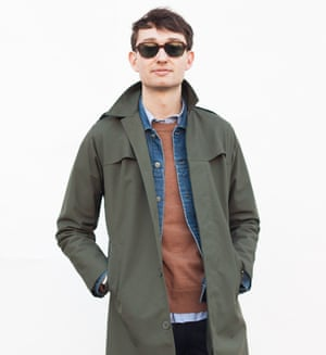Man in coat, jacket and jumper