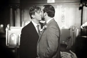 Max and Toby Boon on their wedding day in 2012