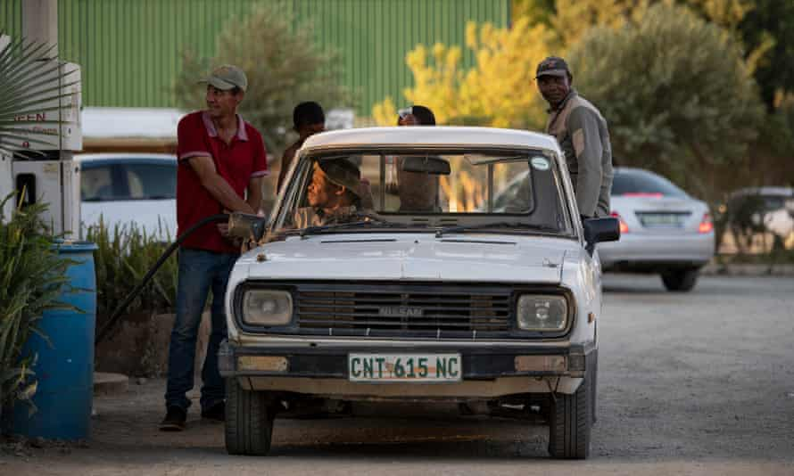 Black people are restricted to using the petrol station on the edge of Orania.
