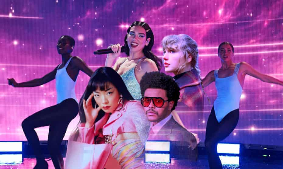 The music that hit big in 2020 suggested an audience keen to retreat from the present.