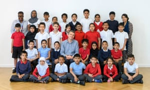 Year 3 class at Mayflower Primary School [school not to be named], Tower Hamlets 2018. Photo © Tate - Mayflower Primary, Tower Hamlets - Photo credit Tate