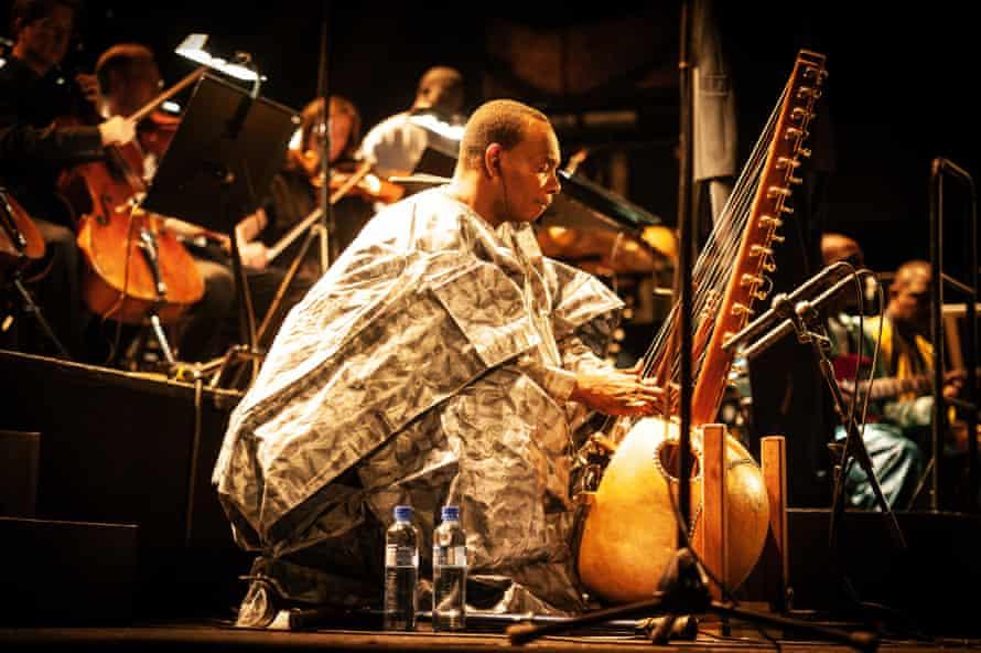 Toumani Diabaté and the London Symphony Orchestra.