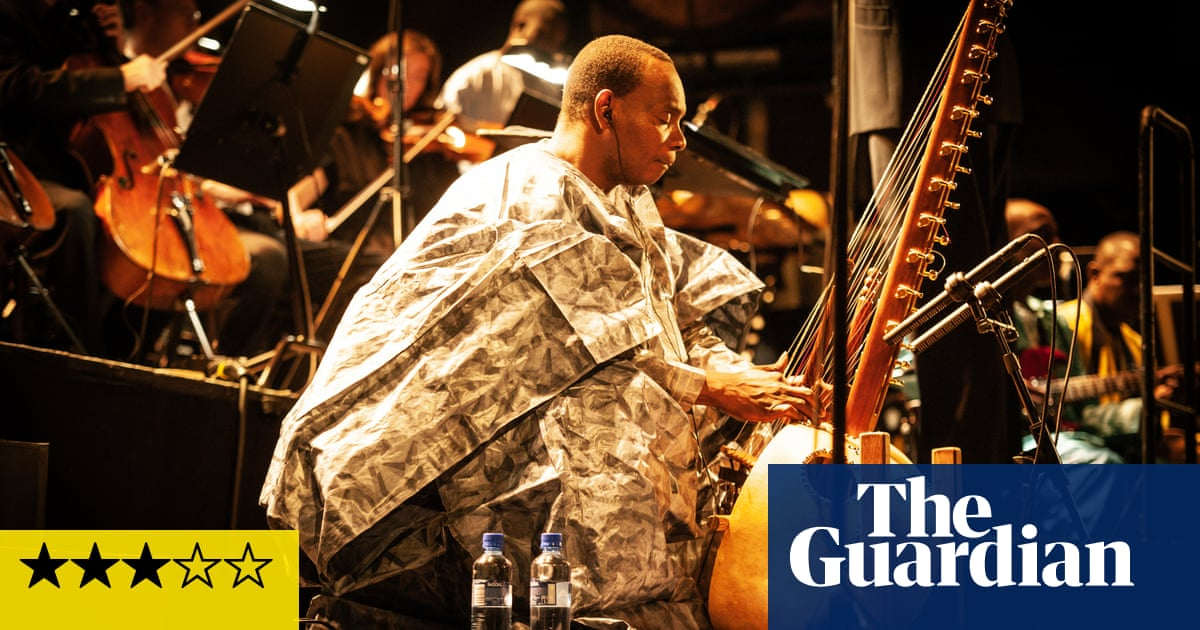 Toumani Diabaté and the London Symphony Orchestra: Kôrôlén review – an unequal balance