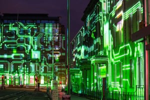 3D mapped projections