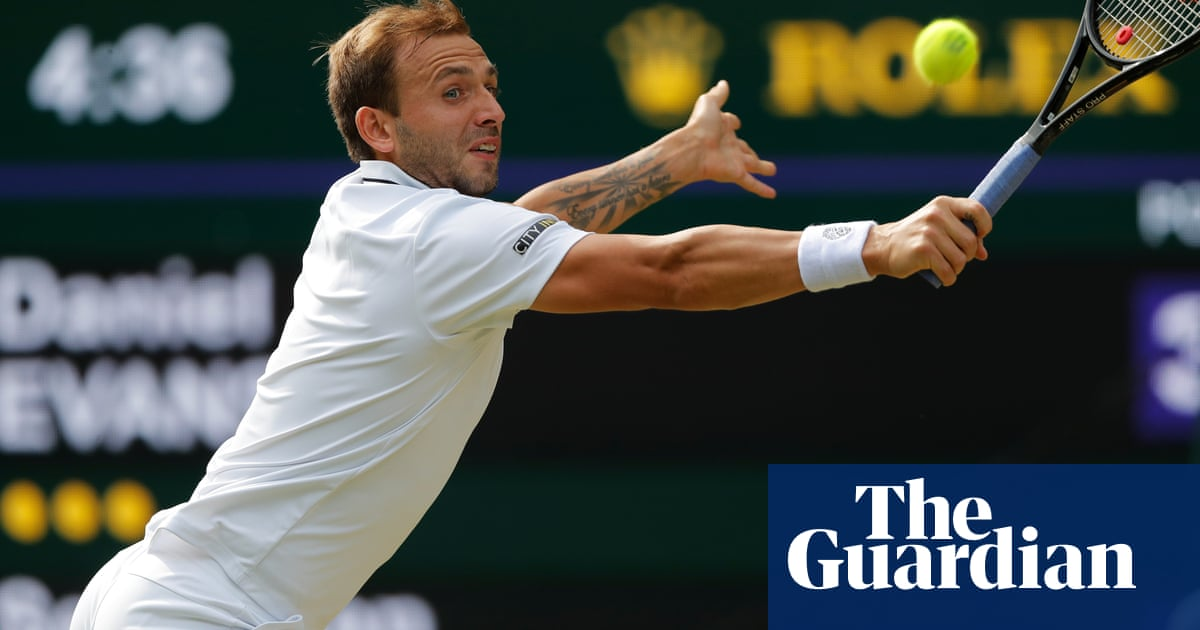 Dan Evans crashes out of Wimbledon to big American hope Sebastian Korda