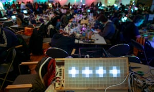 Practical computer skills can make a big difference to the lives of refugees, Hamburg's Chaos Computer Congress in was told