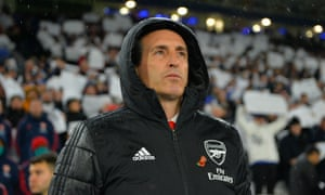 Unai Emery says Arsenal 'need more passion' after watching his team lose 2-0 at Leicester.