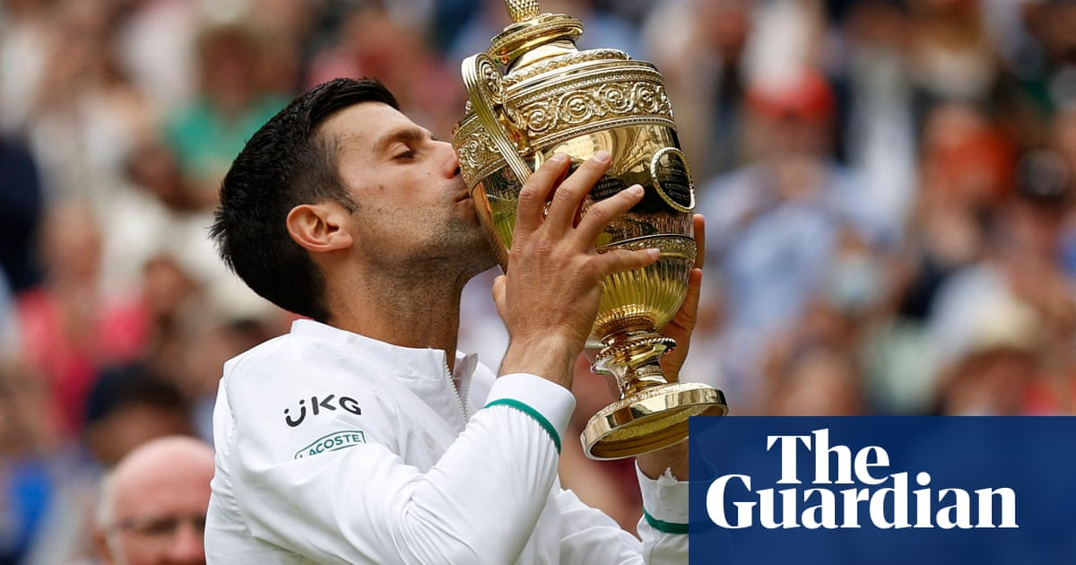 Novak Djokovic wins sixth Wimbledon title after battle with Matteo Berrettini