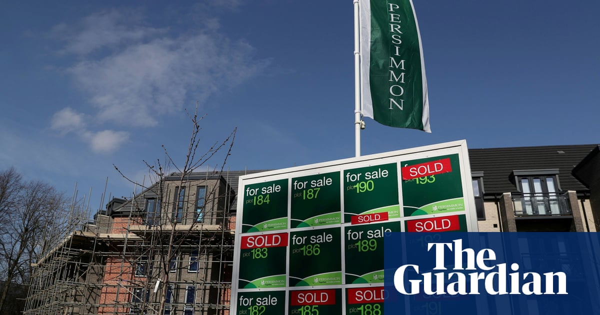 Housing boom takes Persimmon sales past pre-pandemic levels