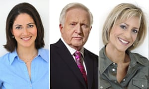 Mishal Husain, David Dimbleby and Emily Maitlis will co-host the BBC's biggest ever campaign event at Wembley Arena.