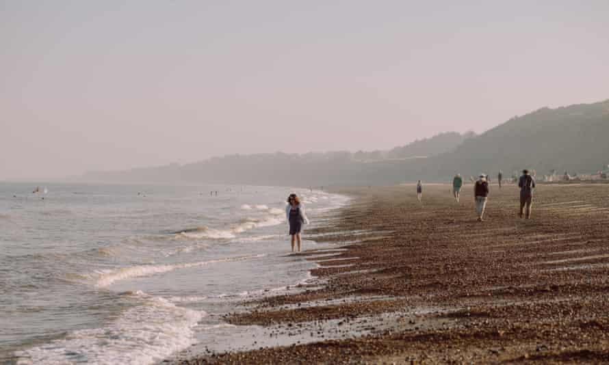 'We start with a bracing tramp north along the beach towards Walberswick.'