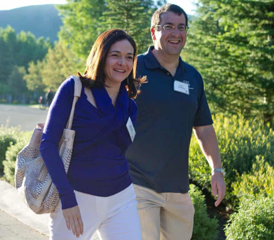 Sheryl Sandberg with husband Dave Goldberg in 2011