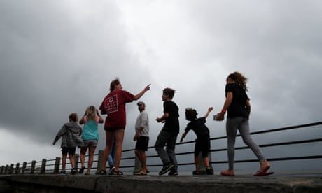Hurricane Dorian: South Carolina governor warns people: 'You need to get out' – as it happened