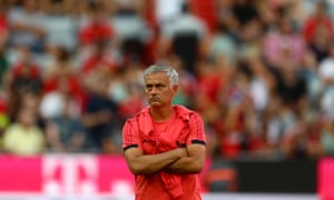 José Mourinho has cast a miserable figure throughout pre-season.