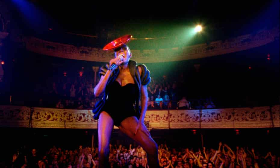 A still from Bloodlight and Bami, a 2017 Grace Jones documentary.