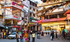 The town of Dharamsala