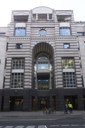 Barings Bank at London Wall.
