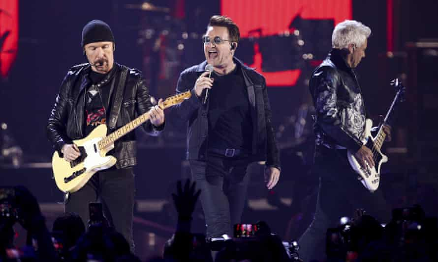 U2: 'We've got to give ourselves a moment to think about this record and about how it relates to what's going on in the world.'