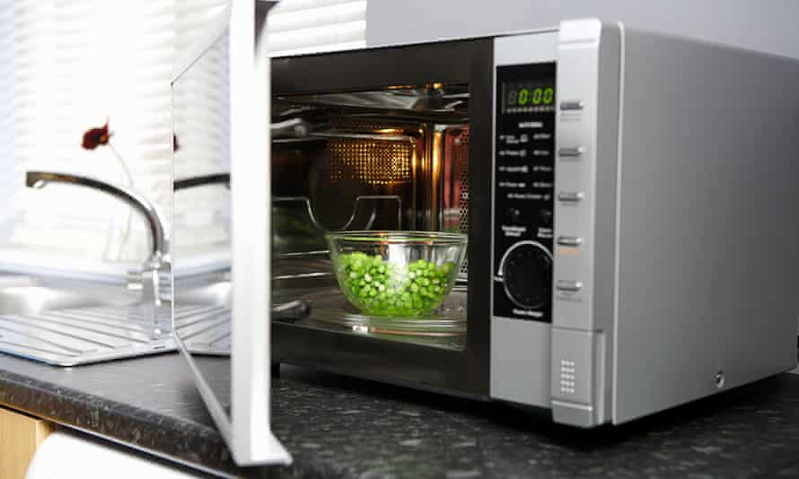 Europe's microwave ovens emit nearly as much CO2 as 7m cars | Greenhouse gas emissions | The Guardian