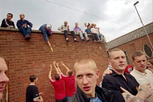 12th of July Parade, City Centre, Derry, North of Ireland, 1996