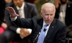 Joe Biden has not announced whether he will run in 2020, despite coming out on top of the Iowa poll