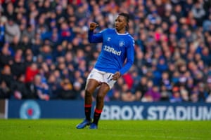 Aribo rues a missed chance.
