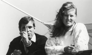 The Duke and Duchess of York aboard the royal yacht in 1984.