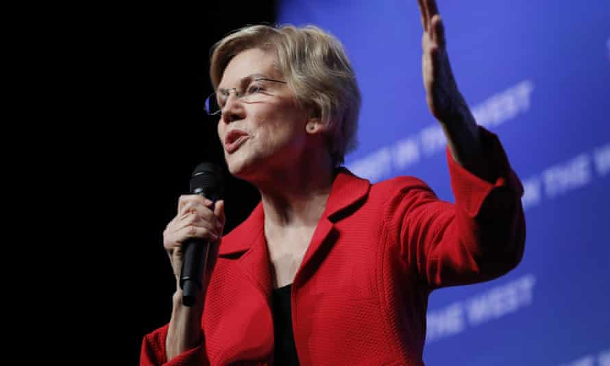 'Warren has finally begun to make her true feelings clear, and progressives no longer need to wonder whether she's with us or not. She's not.'