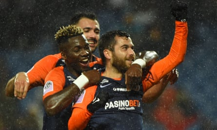 Montpellier's French midfielder Teji Savanier, who scored against Brest on Sunday, is one of a number of players in their prime brought in this summer.