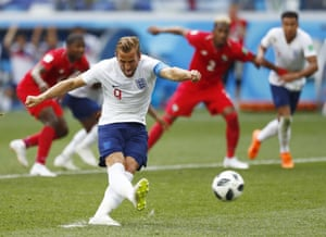 Harry Kane batters the ball into the top corner to make it 2-0.