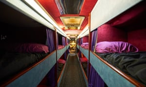 The former band tour bus to provide emergency shelter and support for vulnerable homeless people in Greater Manchester.