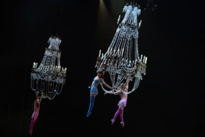 Paris, France. The Cirque du Soleil Corteo show opens at the AccorHotels Arena Bercy