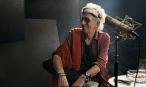 Uncle Pirate-Chops hijacks HMS BBC4 for three nights … Keith Richards' Lost Weekend.