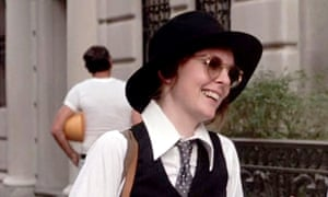 Diane Keaton in Annie Hall.