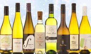 White wines under £10