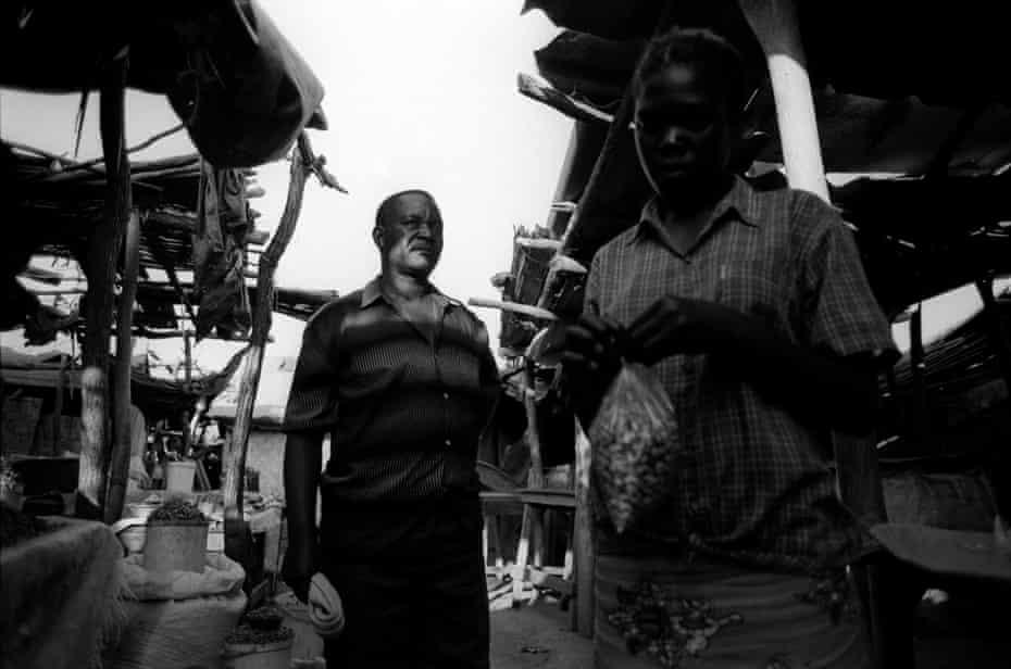 Lorry drivers in Chirundi